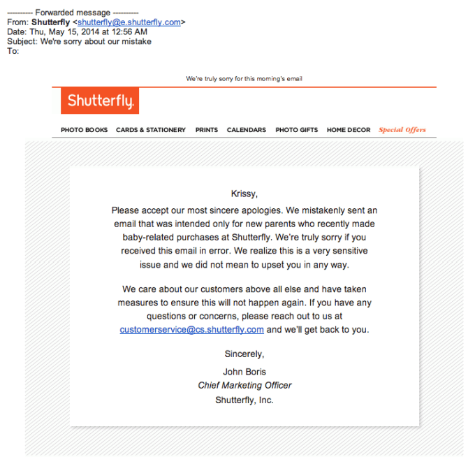 shutterfly_sorry-email mistakes