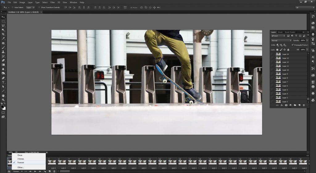 step 5 - make cinemagraph