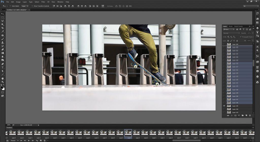 step 6 - make cinemagraph
