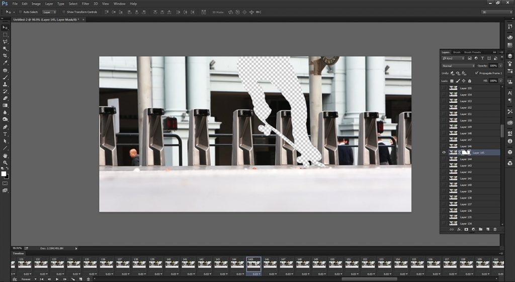 step 7 - make cinemagraph