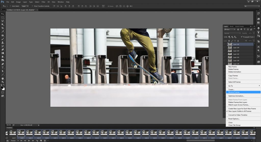 step 8 - make cinemagraph