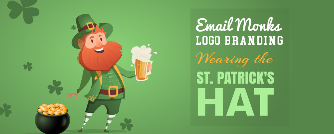 EmailMonks Logo Branding-St. Patrick's Day - Feature