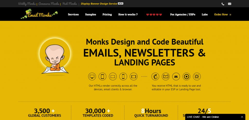 EmailMonks Logo Branding-Website