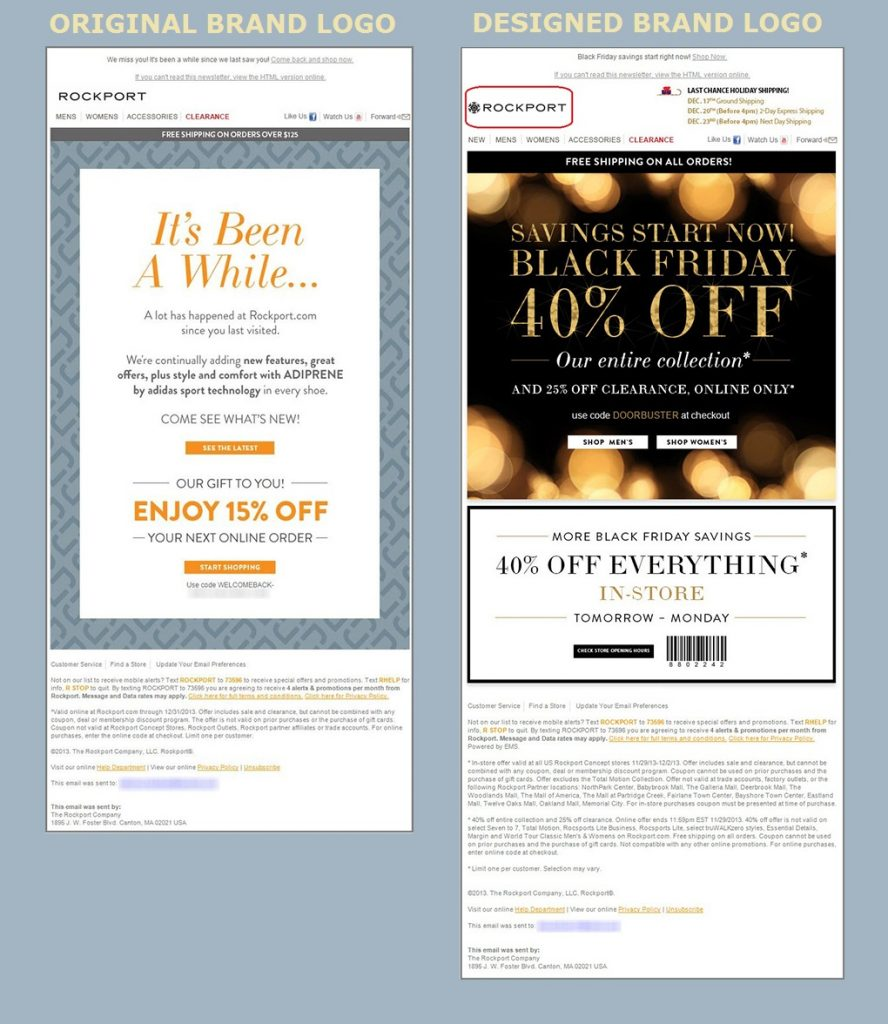 Beautiful Email Design - Rockport