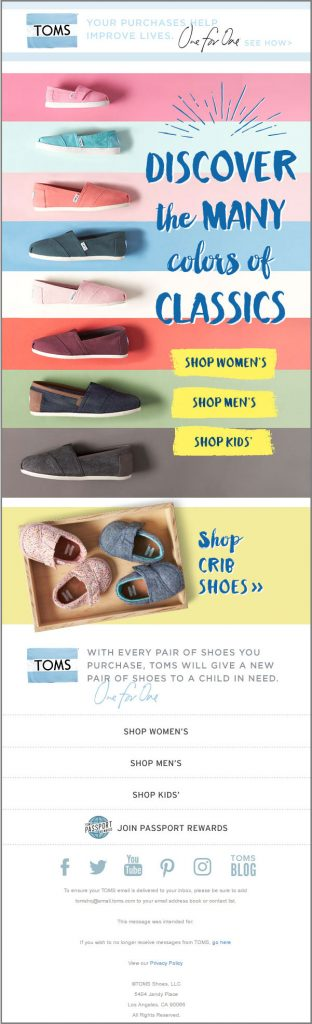 Designing for email-Toms