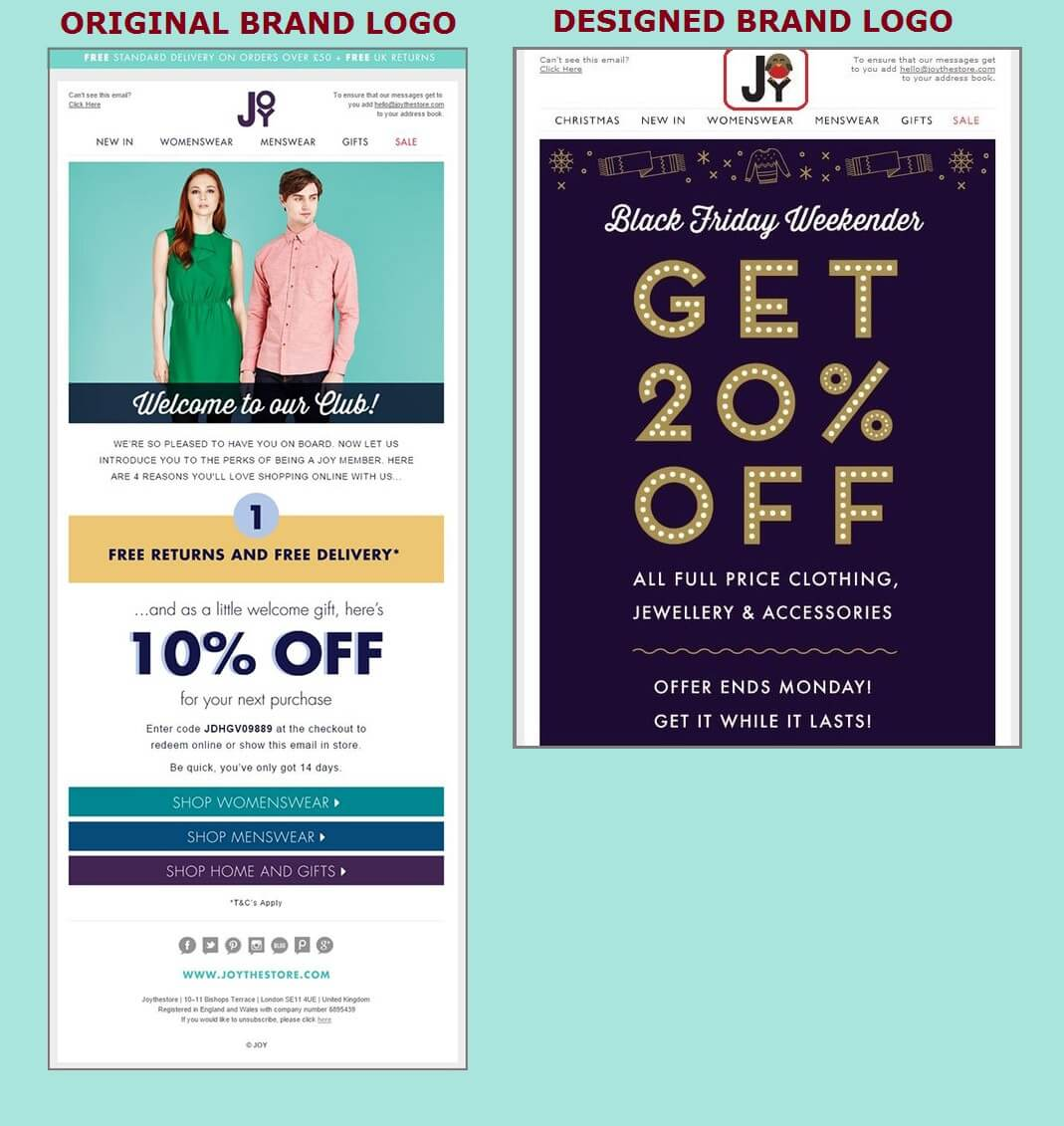 Leveraging Logos In Emails With Festal Branding