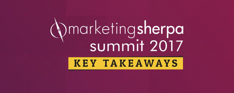 marketing sherpa summit 2017