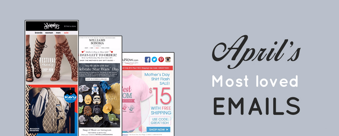 April's Most loved Emails