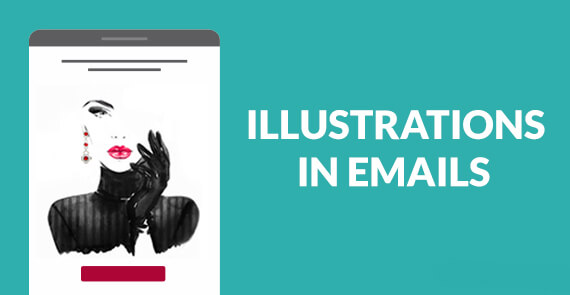 Illustrations in Emails