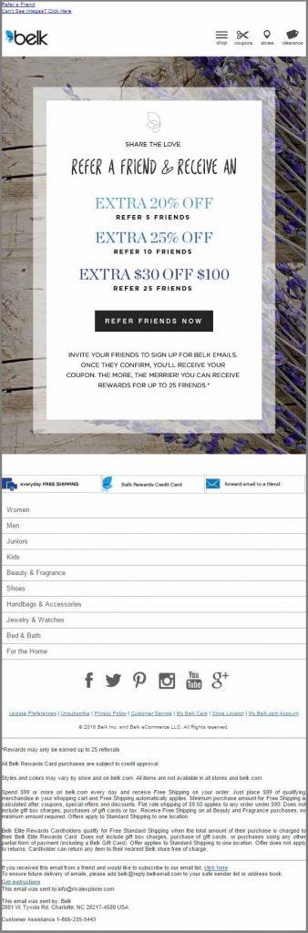 Belk_referral email