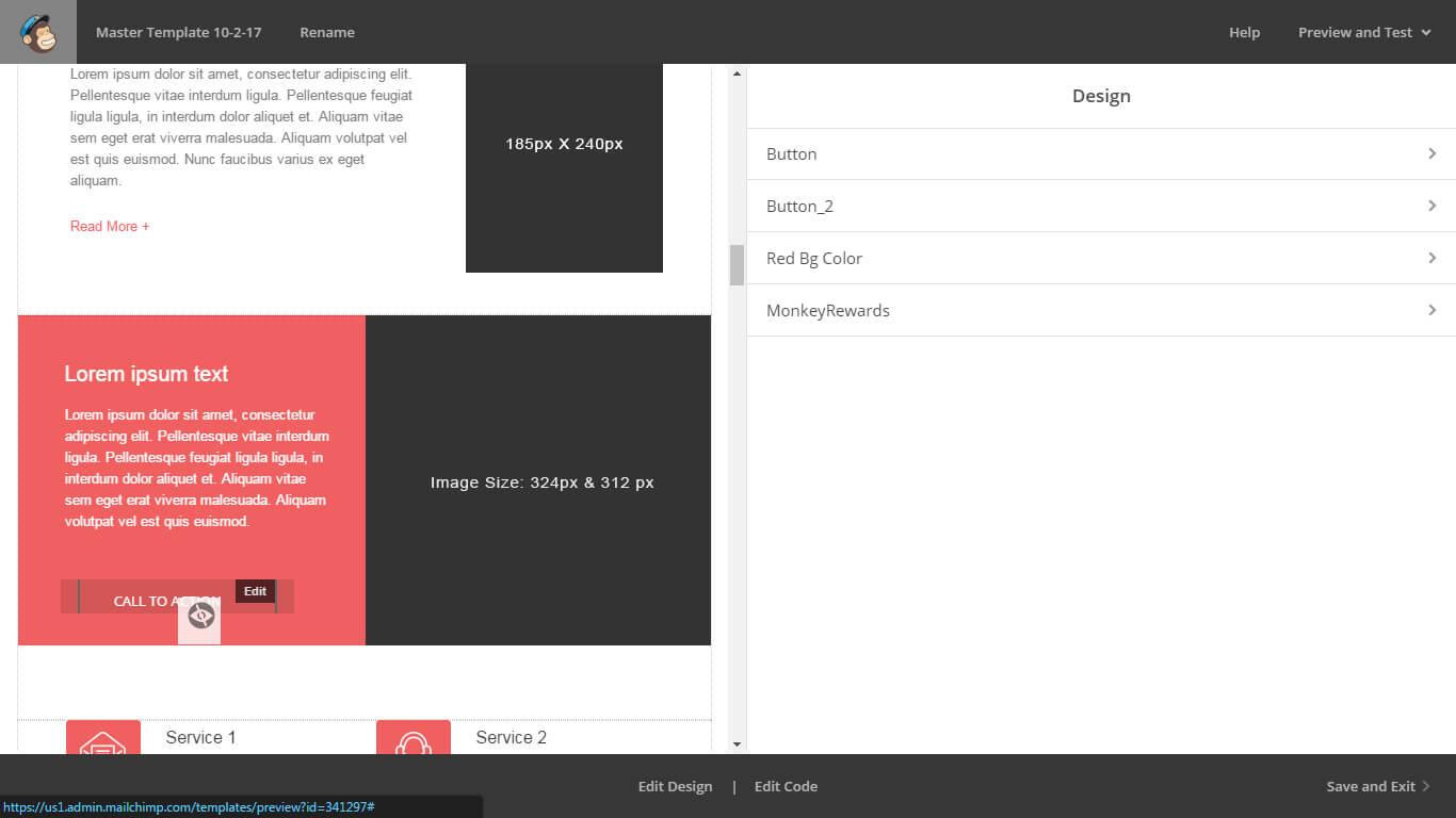 mailchimp email template editor monks review. Black Bedroom Furniture Sets. Home Design Ideas