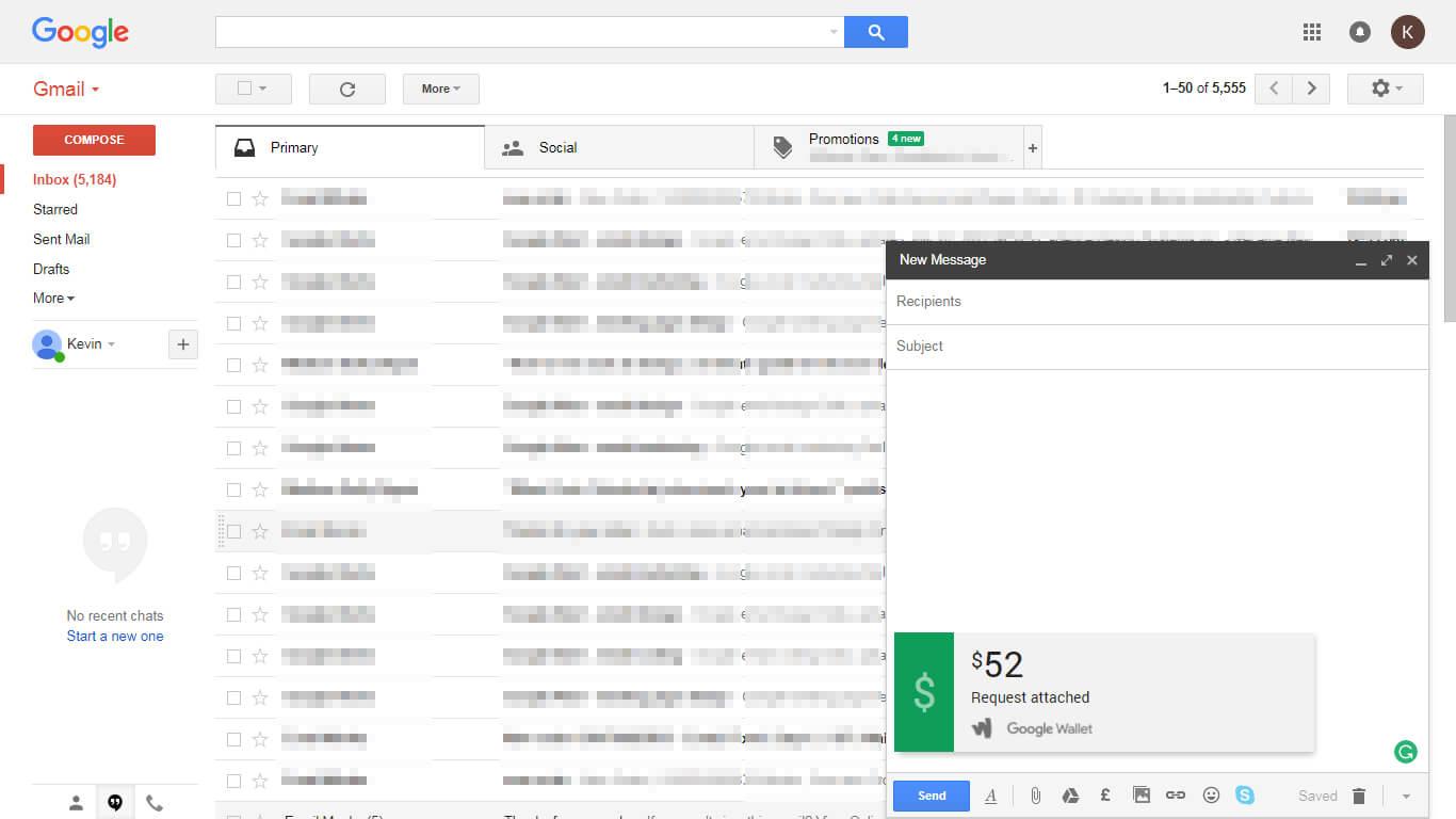 Transaction Via Emails - Attachment