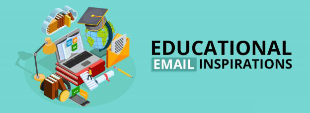 Educational Industry Email Inspirations