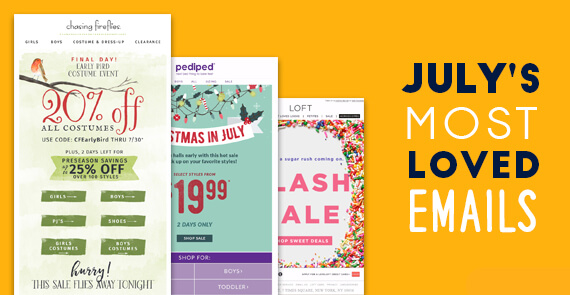 July's Most Loved Emails thumbnail