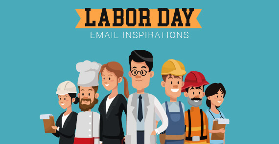 Labor Day Email Inspirations