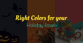 Right Colors for your Holiday Emails