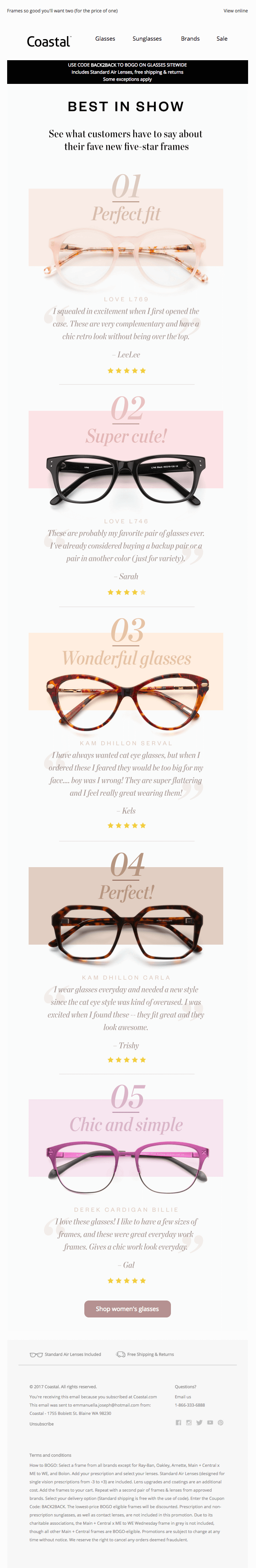 fonts and styling in emails