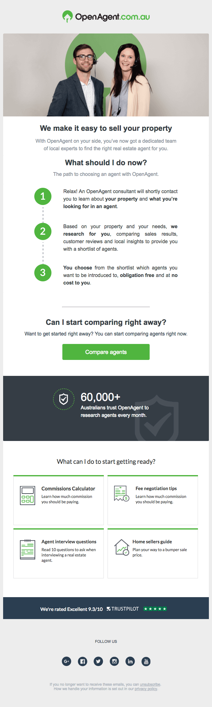 openagent-cta email