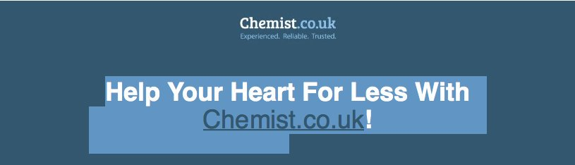 Chemist.co.uk fail