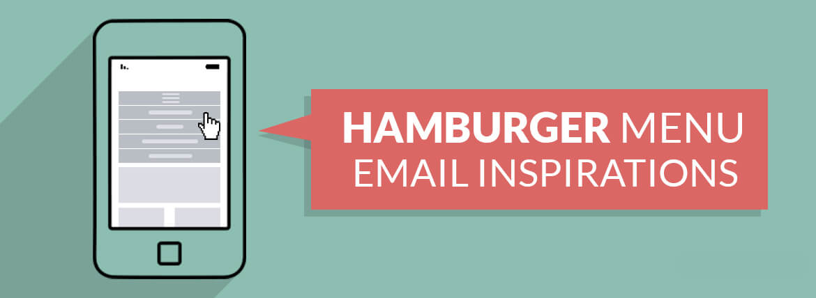 Hamburger Menu Email Inspirations