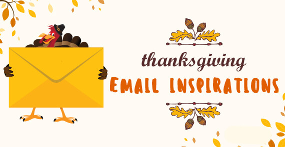 Thanksgiving Email Inspirations