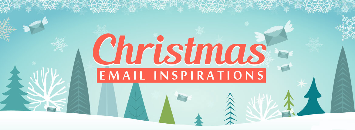 Christmas Email Inspirations Featured