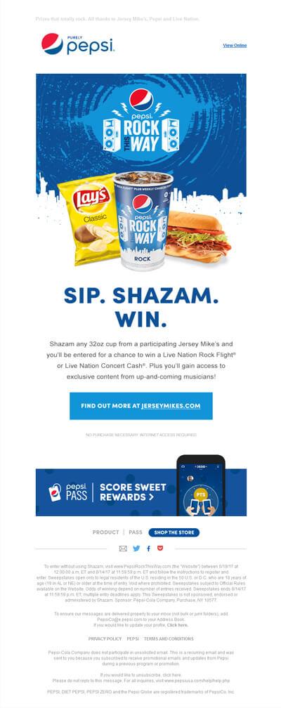 Pepsi-Email