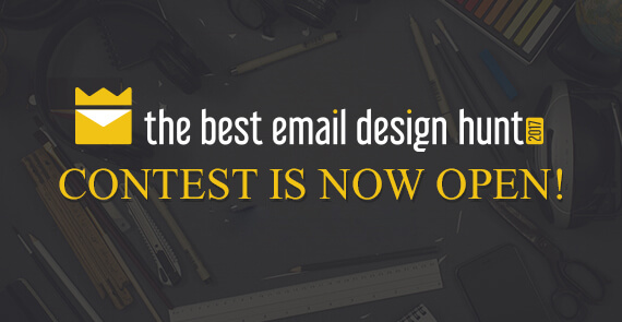 the best email design hunt 2017