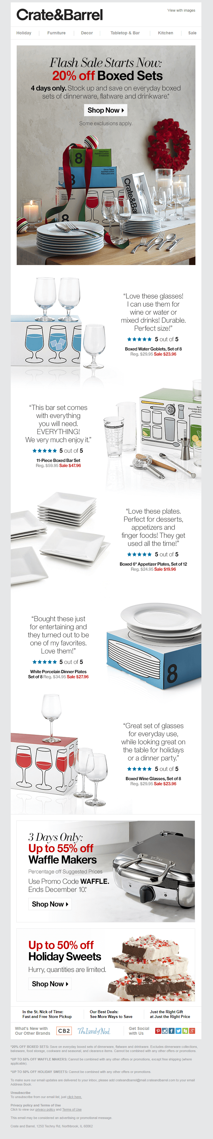 crate&barrel email