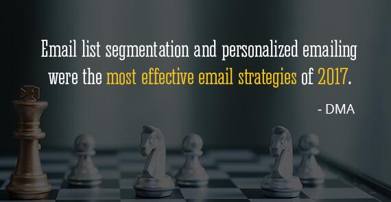 15. List segmentation_DMA - email marketing statistics