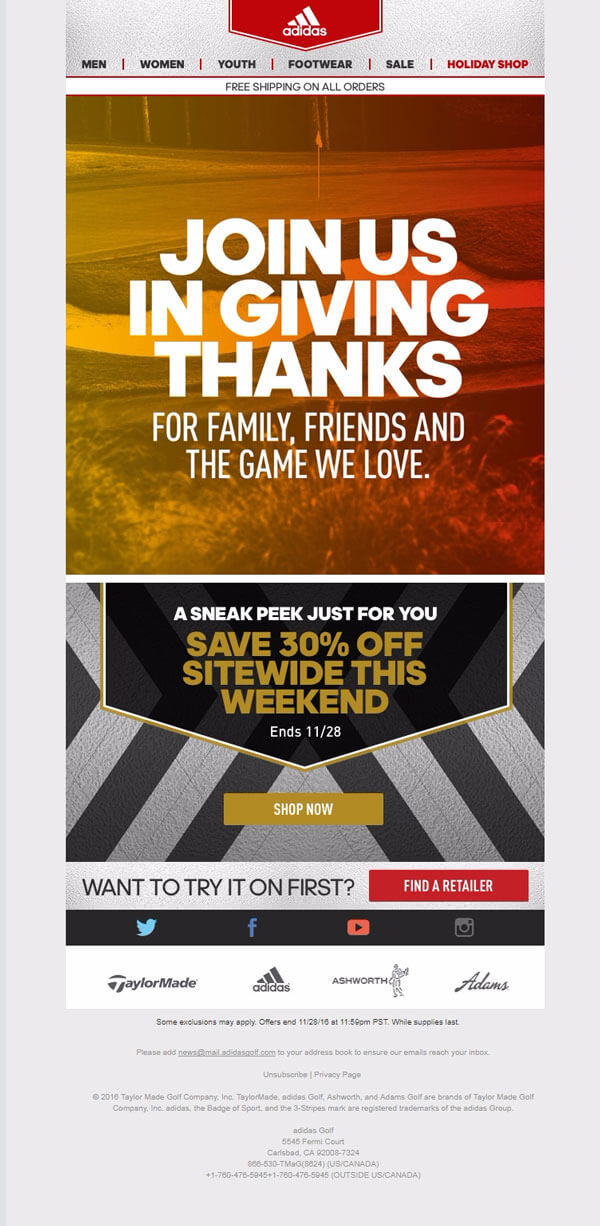 Adidas---Thanksgiving-Holiday-Email