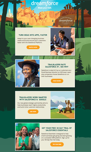 Dreamforce-Best-Email-Design-Hunt-finalist