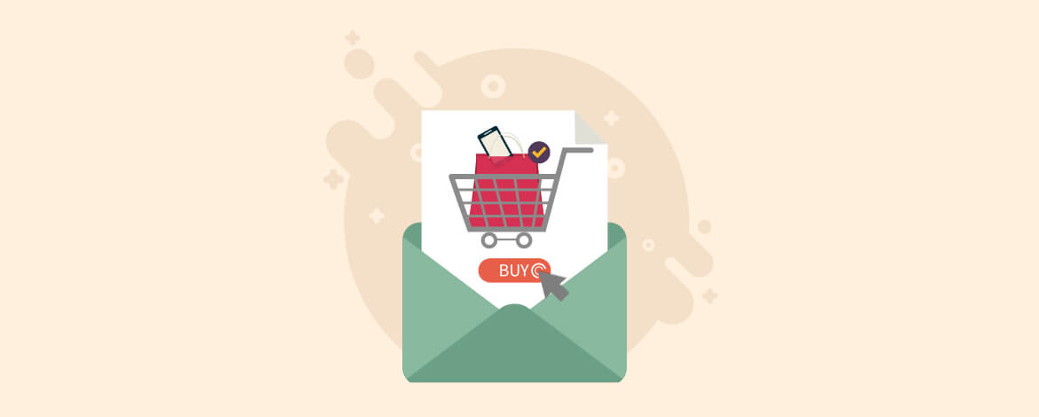 Live Shopping Cart in Cart abandonment Email