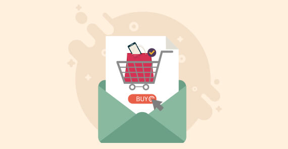 Live shopping Cart in Email