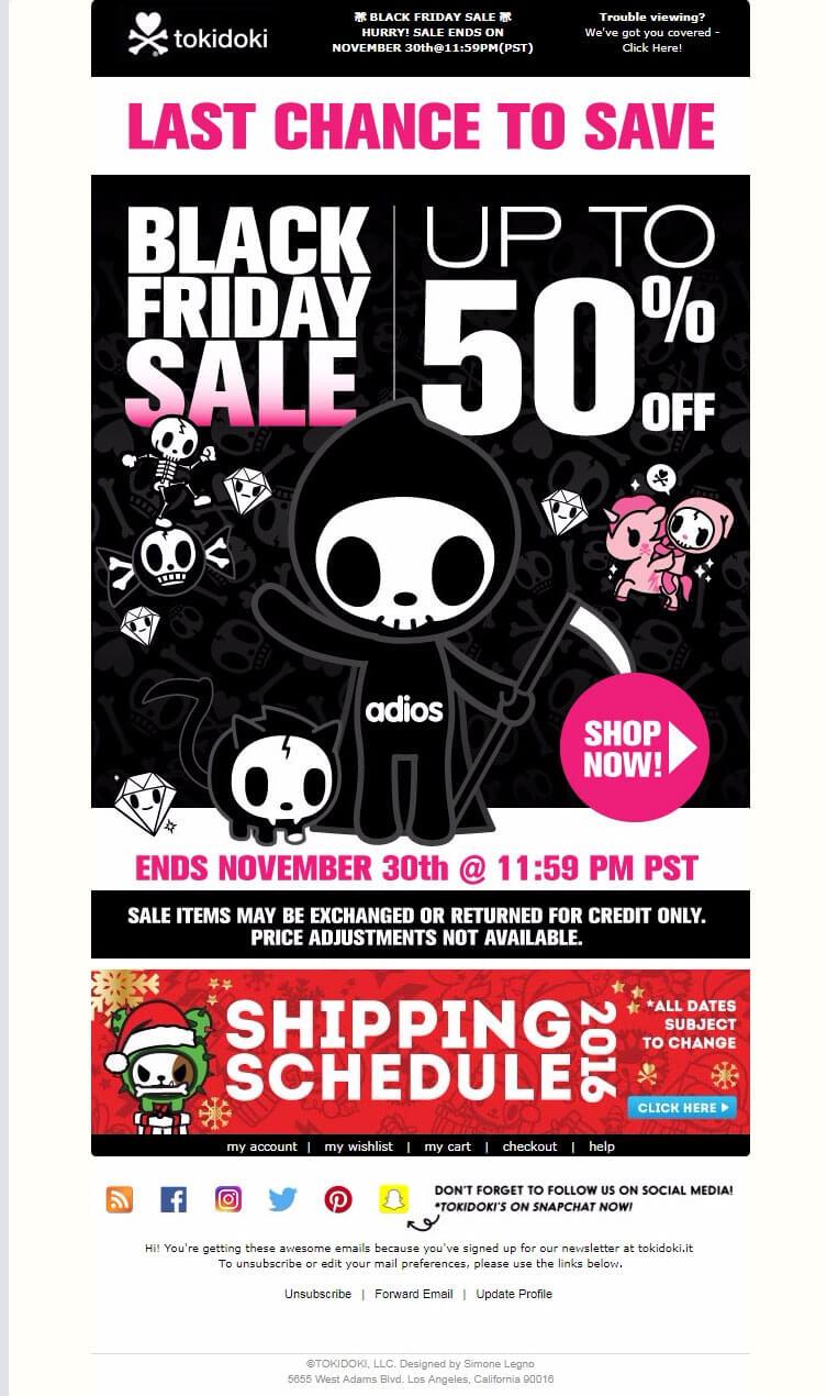 Tokidoki---Black-Friday-Holiday-Email