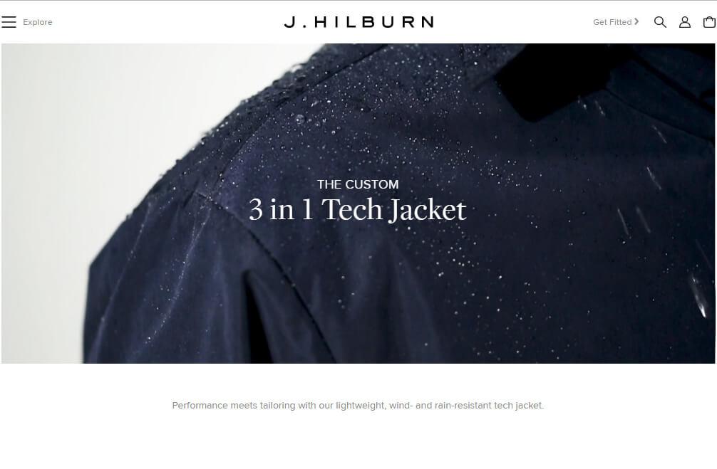 J Hilburn Landing Page