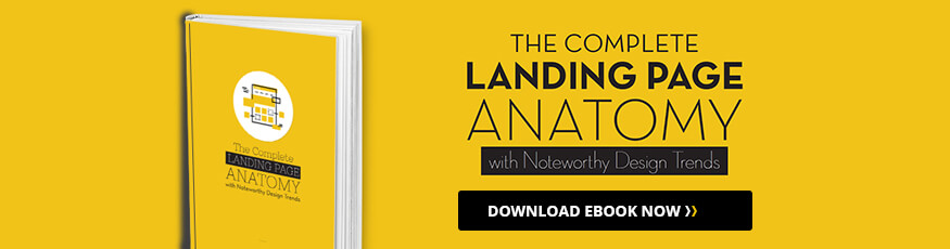 Anatomy of a Landing Page Ebook