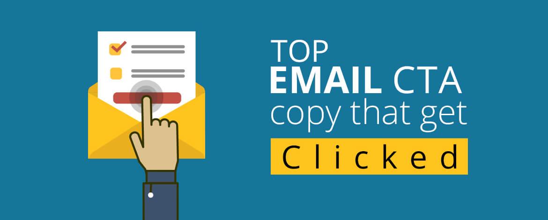 Top email CTA copy