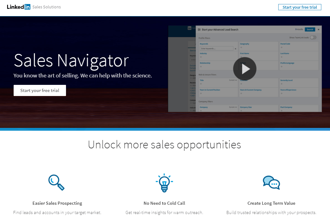 LinkedIn_Landing Page