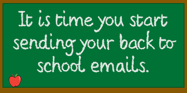 Back to School Email Marketing