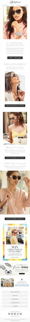 Brighton Trending Email Template