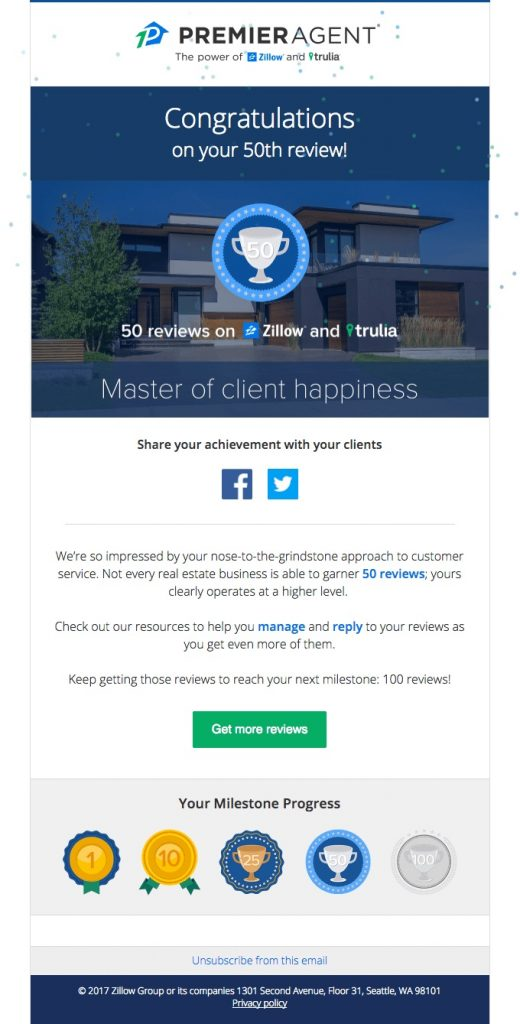 Premier Agent Trending Email Template