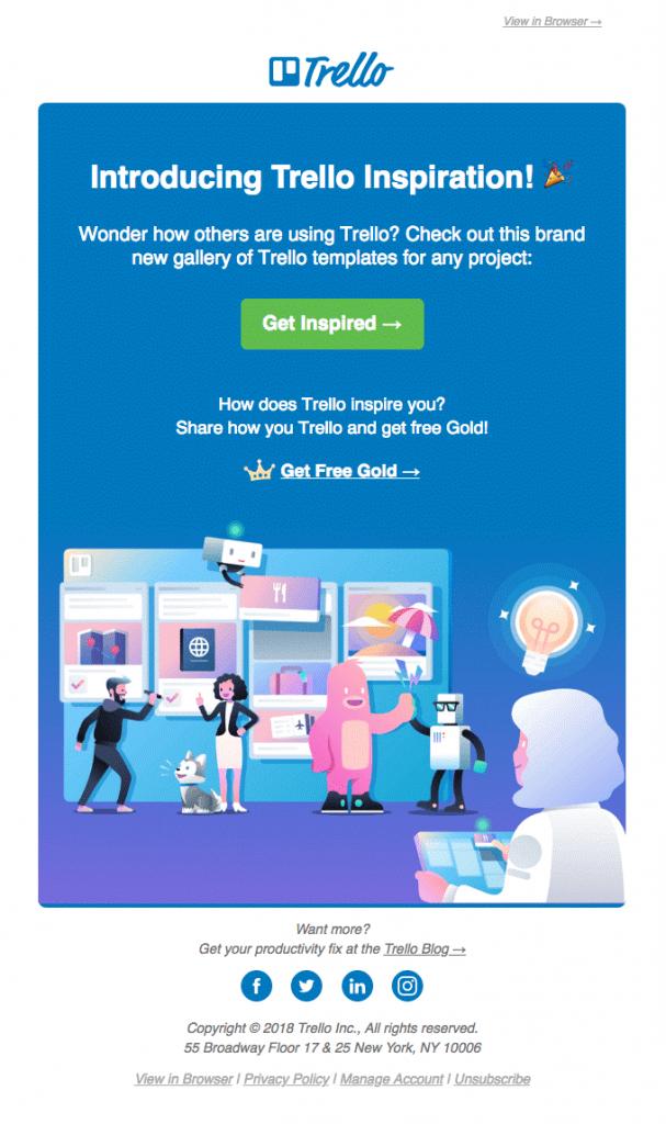 Trello Email Template