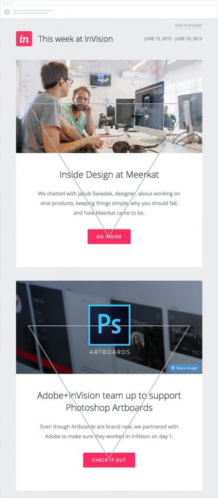 inVision Email Templates