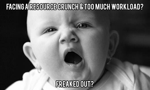 facing resource crunch?