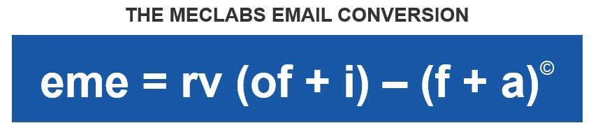 Email Conversion Formula