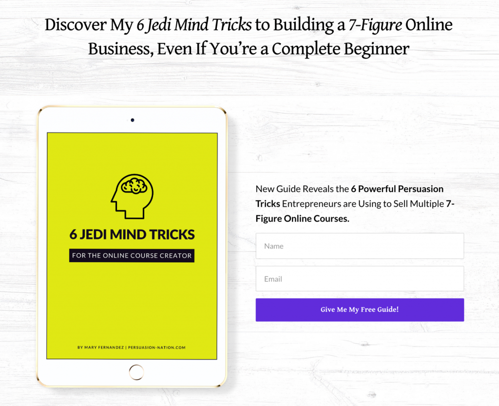grow email list Mini eBook