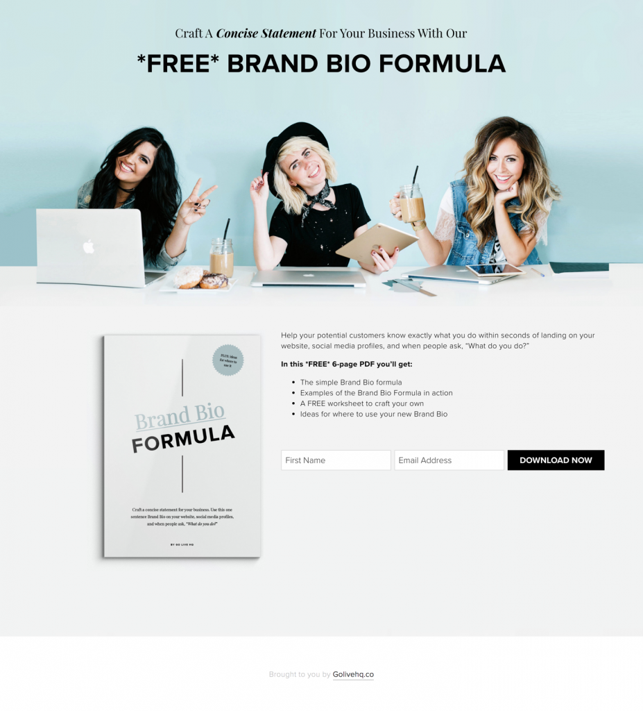 grow email list template
