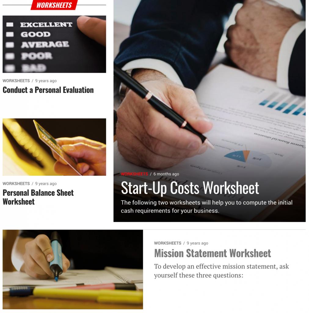 grow email list worksheet