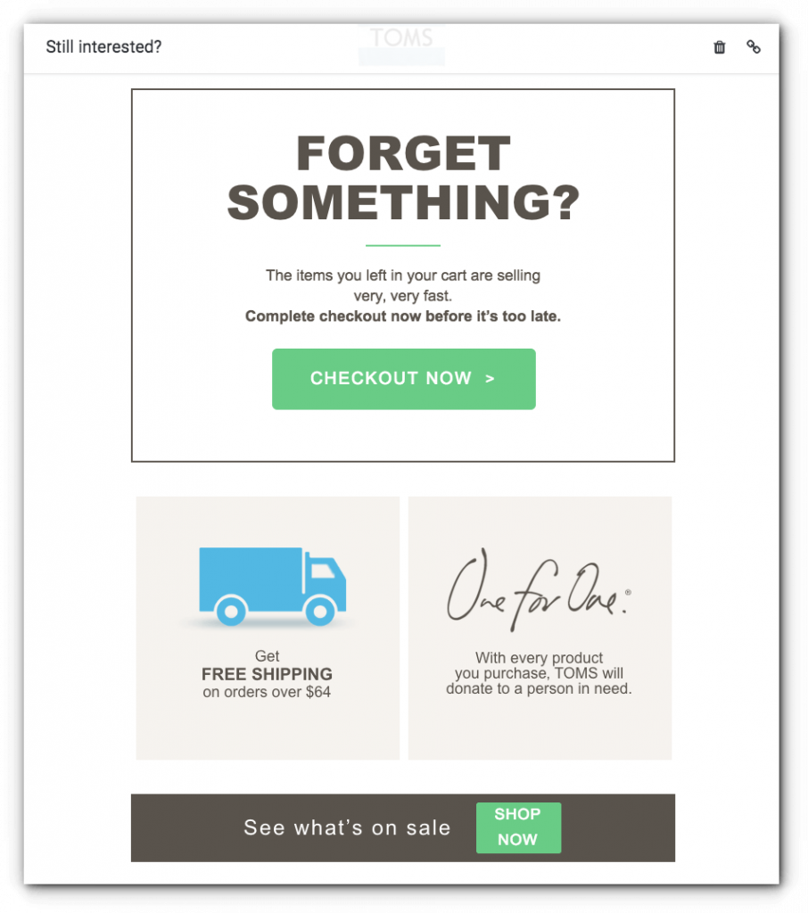 reminder email template